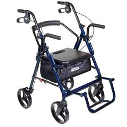 transport chair rollator combo