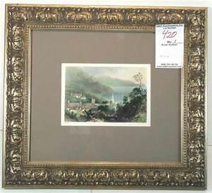 Glenarm; Artist: W.H. Bartlett