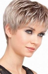 Coiffure Femme 2018 Court : modele coupe cheveux court femme 50 ans ~ Nature-et-papiers.com Idées de Décoration