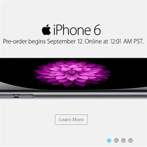 iphone 6 pre order time iphone 6 pre order kick sept 12 at 12 01am pacific