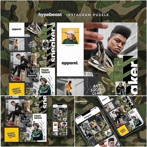 Hypebeast Istagram Puzzle Free Download