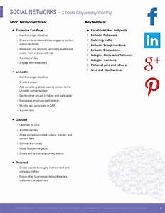 Social media proposal template best professional templates for Social media rfp template