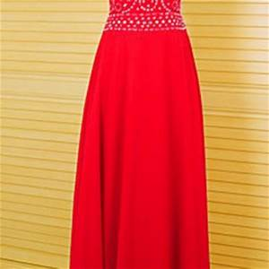 Prom Dresses Bright Colored Prom Dresses A Line Prom