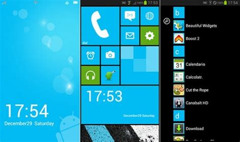 window 8 launcher for android launcher 8 e trasformi android in windows phone 8