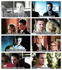 Felicity and Oliver Queen Arrow