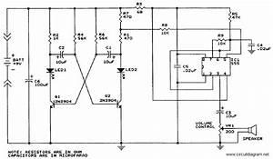 Sound Generator With Ic 555