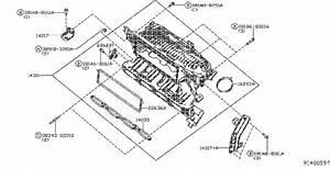 Nissan Pathfinder Engine Cover  Intake  Exhaust