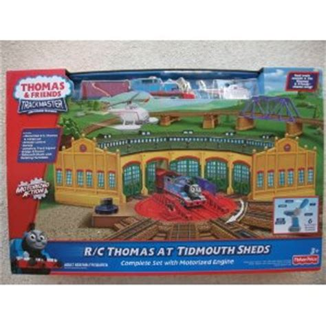 rc thomas at tidmouth sheds v0301 trackmaster thomas