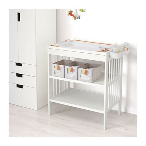 ikea baby change table gulliver changing table white ikea