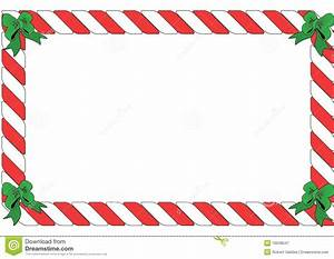 Red And White Striped Border Stock Illustration - Image ...