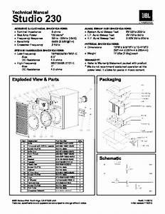 Jbl Studio 230  Serv Man2  Service Manual  U2014 View Online Or