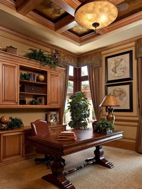 Classic And Elegant Home Office Decor #5988 House