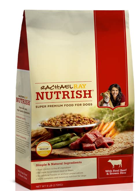 ray rachael food dog nutrish dry rice beef bag pound recipe source
