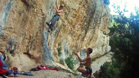 Climbing Rodellar Youtube