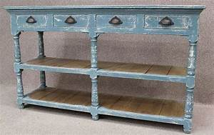Sideboard Retro Look : shabby chic sideboard reclaimed pine top and hand distressed paintwork ~ Markanthonyermac.com Haus und Dekorationen