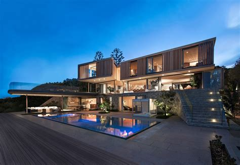 Modern Home Design Nc by Wooden Facade Modern House Design By Saota Architecture