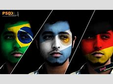 How to Paint National Flag onto a Face Face Paint