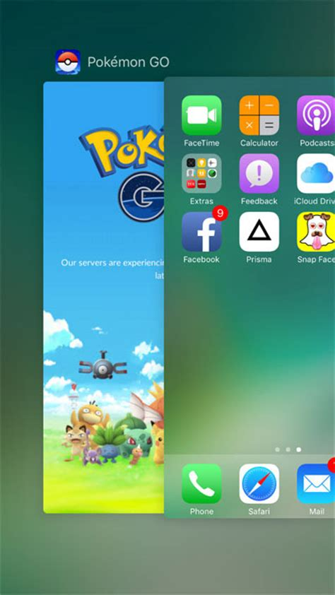 swipe up on iphone quot gps signal not found quot in pok 233 mon go on iphone tips to fix