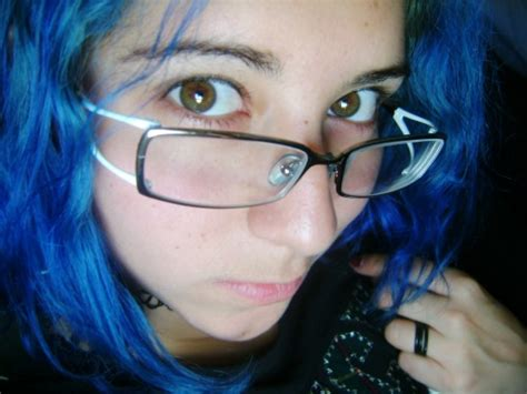 Electric Blue Hair On Tumblr