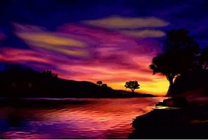 Sunset Colorful Deviantart