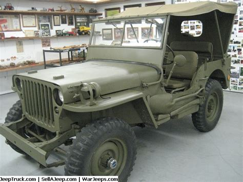military jeep side 1942 willys army jeep mint condition no repairs only