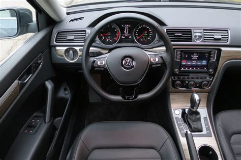 Review Cabin Much Improved Inside 2016 Vw Passat