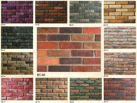 different brick colors there are different types and colors of brick symbolism of a brick wall pinterest backyard