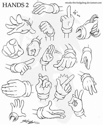 Reference Hands Drawing Draw Sonic Deviantart Hand