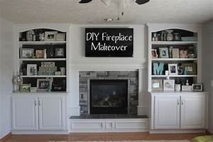 refacing brick fireplace with stone veneer trendy over With kitchen cabinets lowes with wall art above fireplace
