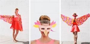 Comment Faire Un Oiseau En Papier : 70 mod les de d guisement halloween fait maison facile et petit budget obsigen ~ Melissatoandfro.com Idées de Décoration