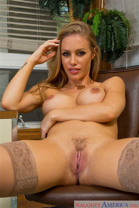 Nicole Aniston Gets Nailed On A Desk In Nude Stockings Naughty America Pictures