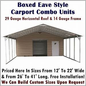 Garage Carport Kombination : carport storage combo units metal carport depot ~ Sanjose-hotels-ca.com Haus und Dekorationen