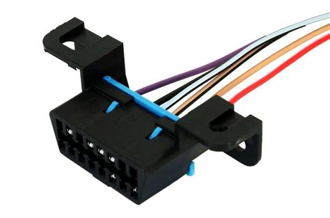 Obdii Obd Wiring Harness Connector Pigtail Corvette