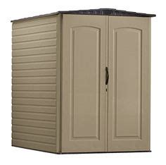 Rubbermaid Roughneck Medium Vertical Shed by Rubbermaid Roughneck Plastic Medium Vertical Storage Shed