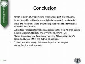 Palegeography And Paleozoic Stratigraphy Of Yemen