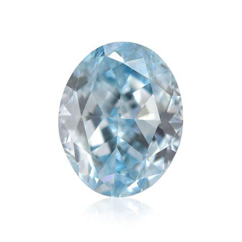 carat fancy intense green blue diamond oval shape