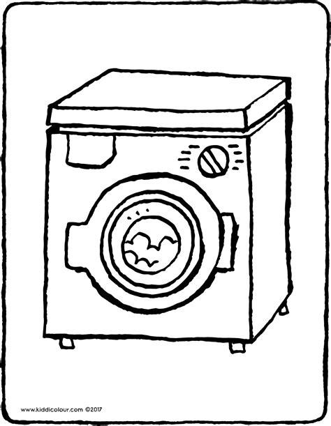 Washing Machine  Kiddi Kleurprentjes