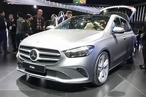 Class B Mercedes : new 2019 mercedes b class breaks cover at paris auto express ~ Medecine-chirurgie-esthetiques.com Avis de Voitures