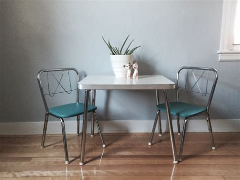 free shipping mid century children s table and chairs set