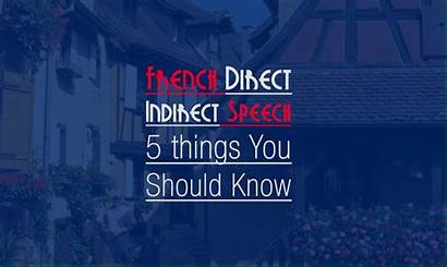 Indirect Direct Speech French Should Know