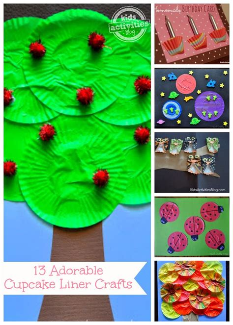 Crafts with Cupcake Liners