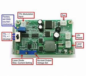 3 5a Laser Driver  Optional Ttl  12v