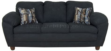Black Fabric Loveseat by Black Fabric Modern Sofa Loveseat Set W Optional Chairs