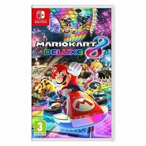 Mario Kart 8 Deluxe Switch Jeux Nintendo Switch