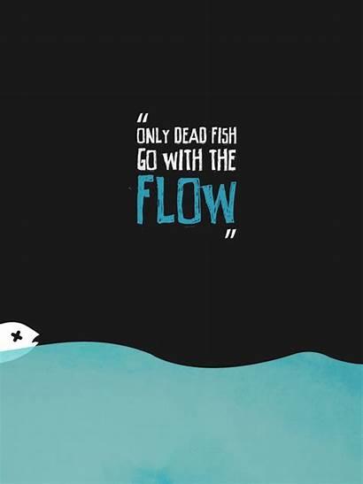 Flow Fish Dead Barros Behance Going