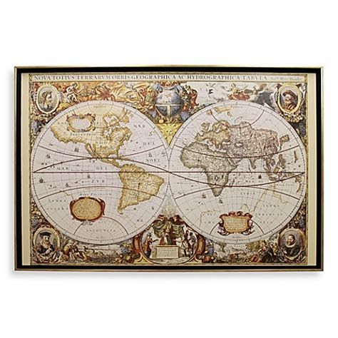 Large Old World Map Wall Art  Bed Bath & Beyond. Home Decor Catalog. Dining Room Hanging Lights. Charcoal Grey Couch Decorating. Bath Decor Sets. Rooms For Rent St Louis Mo. Apartment Decor Ideas Cheap. Dorm Room Refrigerator. Decorative Metal Corner Brackets