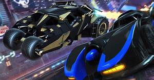 The Batmobile Comes To Rocket League Next Month As Part Of