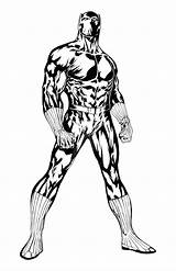 Panther Coloring Pages Printable Marvel Guile Colouring Deviantart Getcolorings Darryl Banks Arrow Superhero Drawings Draw Colori Popular sketch template