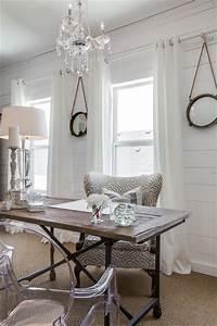 Chic Home Living : 15 uplifting shabby chic home office designs that will ~ Watch28wear.com Haus und Dekorationen
