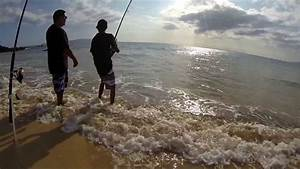 Shore fishing in Hawaii with GoPro - YouTube